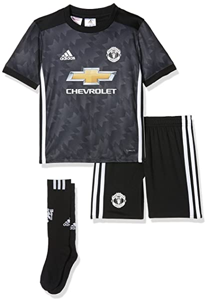 Amazon.com : adidas Manchester United FC 2017 Away Kit Child ...