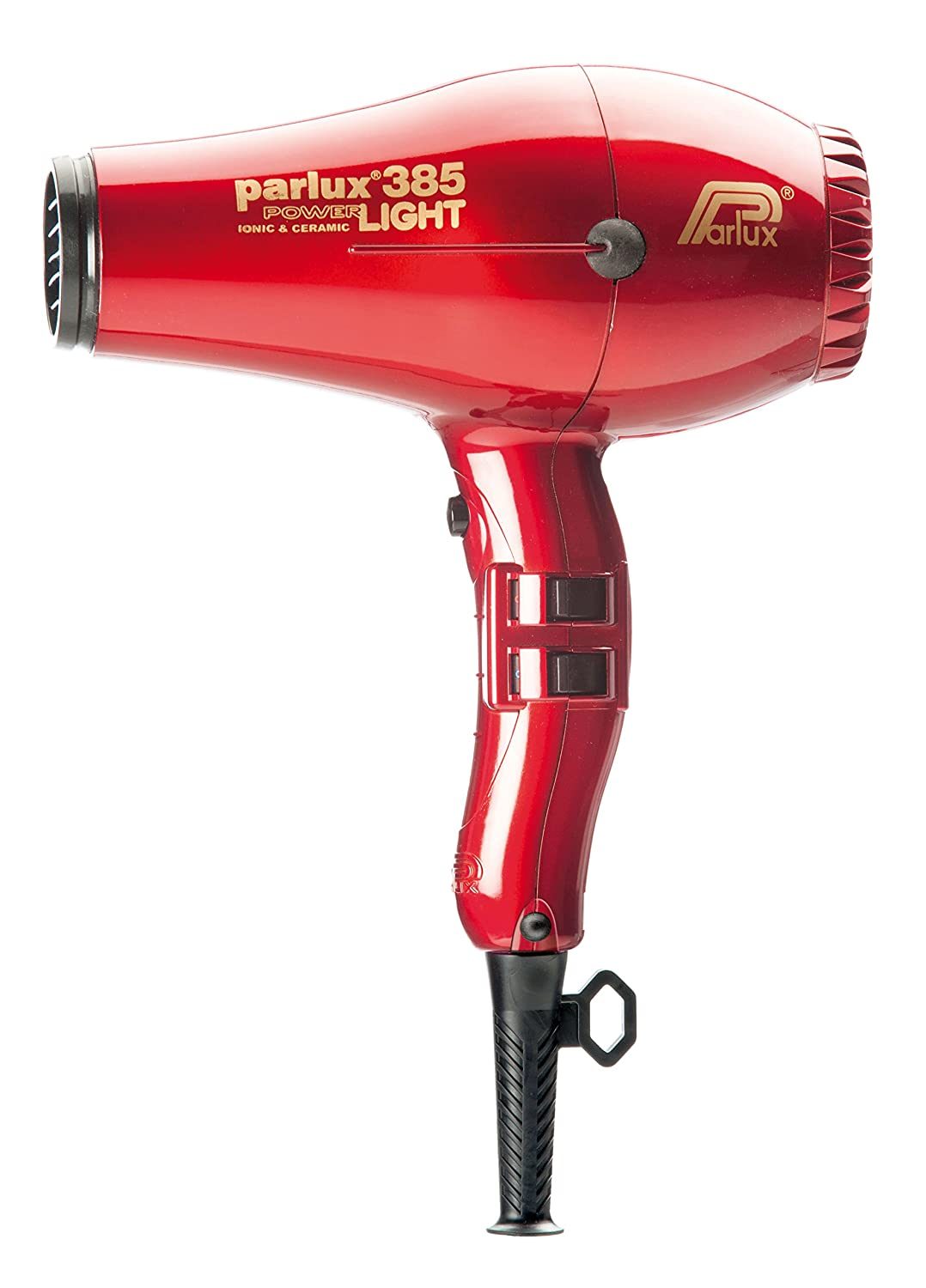 Parlux 385 PowerLight Ionic and Ceramic Hair Dryer – Red