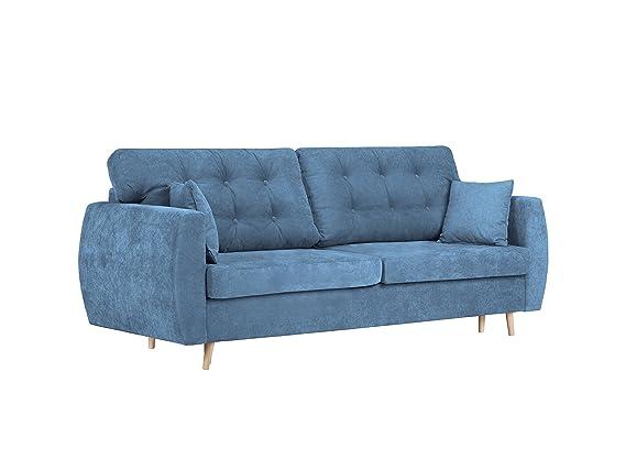 Cosmopolitan-Design 3S amsterdam5 sofá Convertible con baúl ...