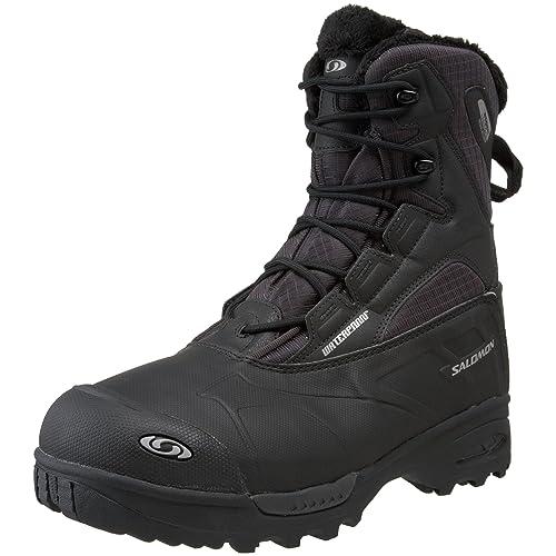 SALOMON Toundra mid WP TOUNDRA MID WP - Zapatillas de deporte de nailon para hombre, color negro, talla 43 1/3: Amazon.es: Zapatos y complementos