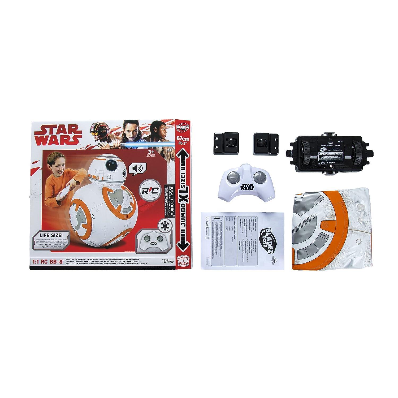 Juguetrónica Bladez - Star Wars Droide BB-8 Hinchable RC con ...