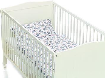 Fillikid Bettwäsche Kinderbettwäsche Igel Linon 40 X 60 100 X