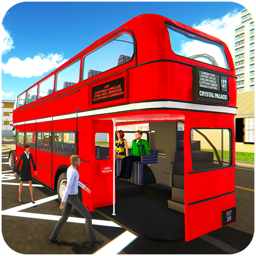 Uphill Off Road Driving Bus Game Simulator : real city coach Bus Driver Jumbo vehicles wonderful interiors routes articulated double school buses desert double snow mountainous environment ()