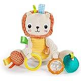 Bright Starts Bunch-O-Fun Plush Activity Toy, Lion, 3 Months +