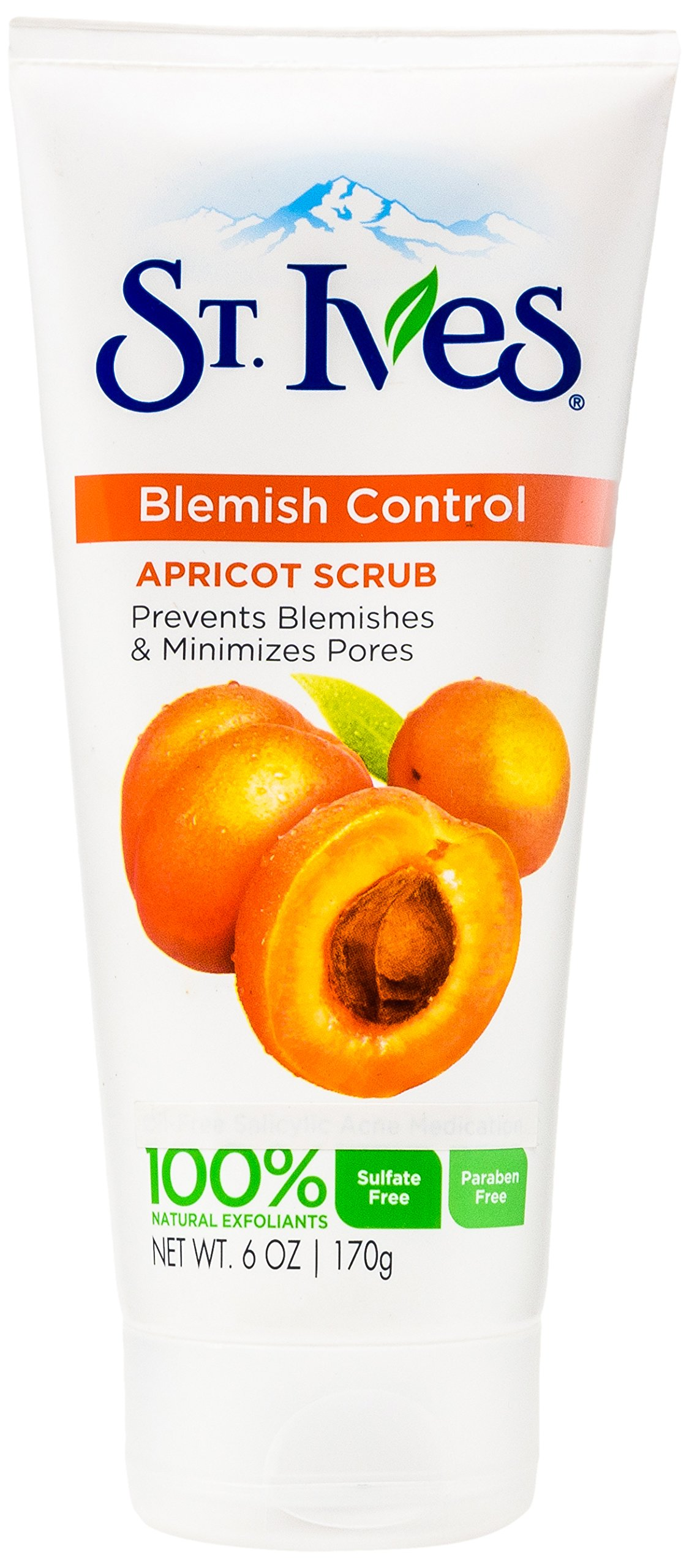 St. Ives Blemish Control Face Scrub, Apricot 6 oz