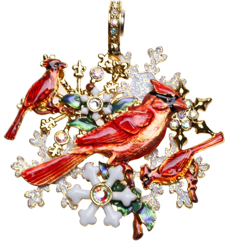 Kirks Folly Winter Song Cardinal Magnetic Enhancer Goldtone
