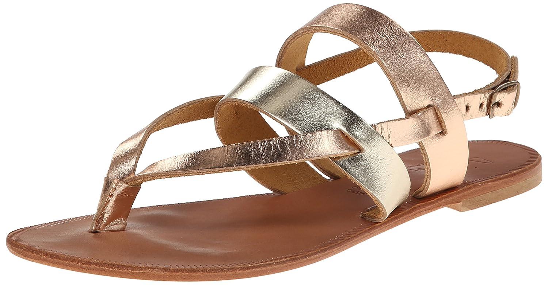 Joie Women's Positano Flat Sandal B00DF0ORRE 38.5 M EU / 8.5 B(M) US|Platinum/Rose Gold