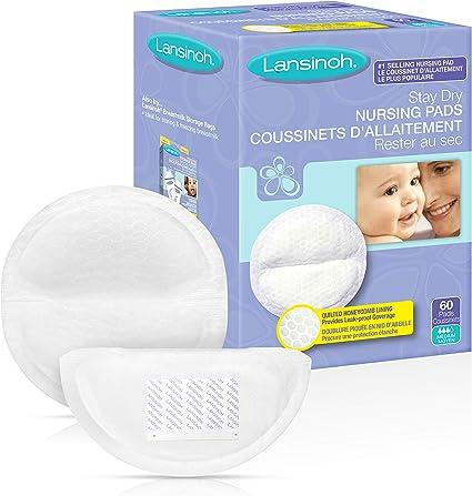 Pack of 4 Lansinoh Disposable Nursing Pads 60-Count