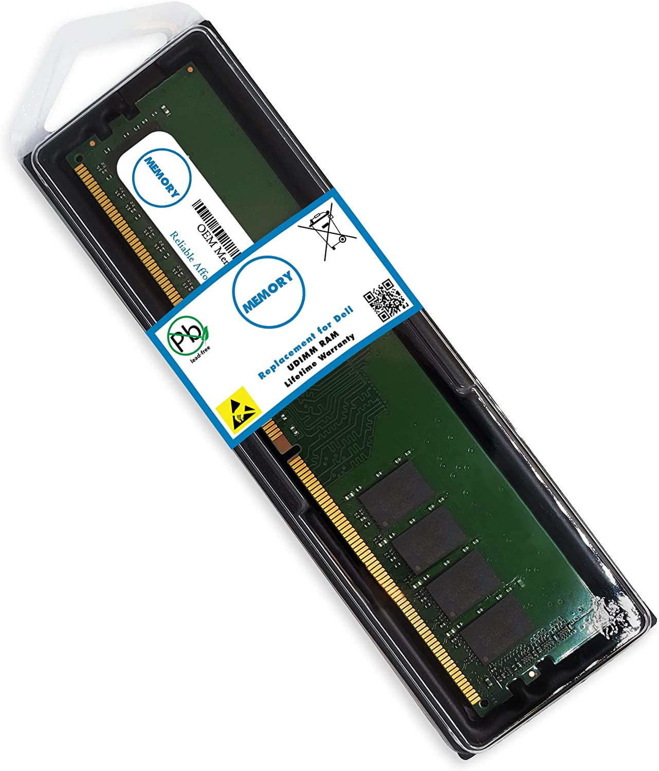 8GB SNPY7N41C/8G AA101752 288-Pin DDR4-2666 PC4-21300 UDIMM RAM Replacement Origin OEM Memory for Dell