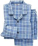 (グンゼ)GUNZE メンズパジャマ(肩ももW保温)長袖長パンツ(ソフトキルト/発熱ニットガーゼ)