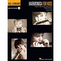 Harmonica for Kids - A Beginner's Guide with Step-by-Step Instruction for Diatonic Harmonica: Hal Leonard Harmonica… book cover