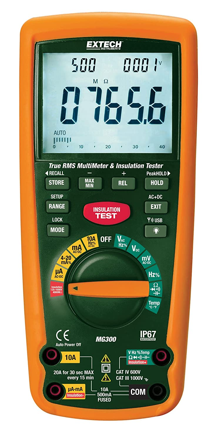 Extech MG300 Cat-IV Insulation Tester by Extech B007ICEL7Q
