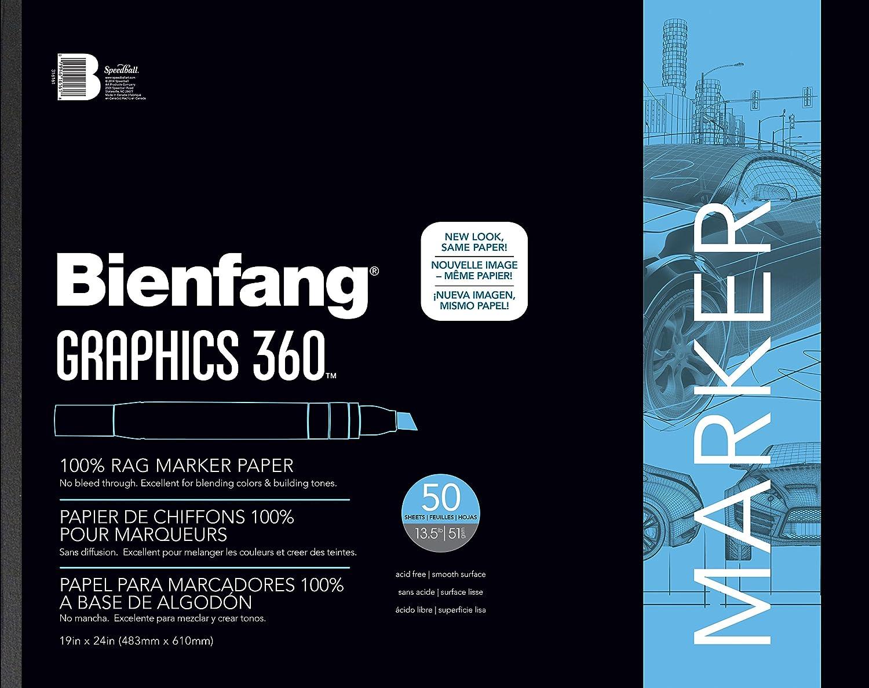Bienfang 360 Graphics Pad 100 Sheets 11X14