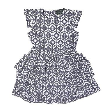 8ab80656f08 Amazon.com: Kate Quinn Organics Baby Girls Pleated Arm Ruffle Pocket Dress:  Clothing