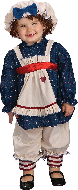Rubies Costume Girls Yarn Babies Ragamuffin Girl Costume 6-12 months