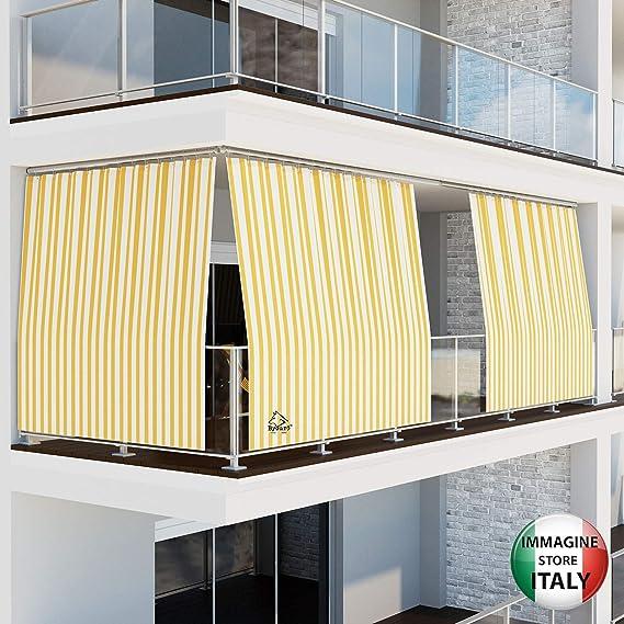 Byour3 - Toldo para exterior con anillas de caída para balcones ...