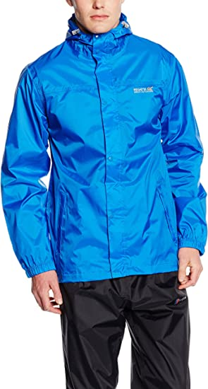 Regatta Mens Lightweight Breathable Pack-it III Waterproof Jacket
