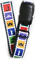 """ORB - Travel Luggage Strap are 2"""" Wide by 70"""" long. Heavy Duty Quick Connect Buckle. Instantly Spot Your Luggage On The Carousel - Spot It Secure It …"""