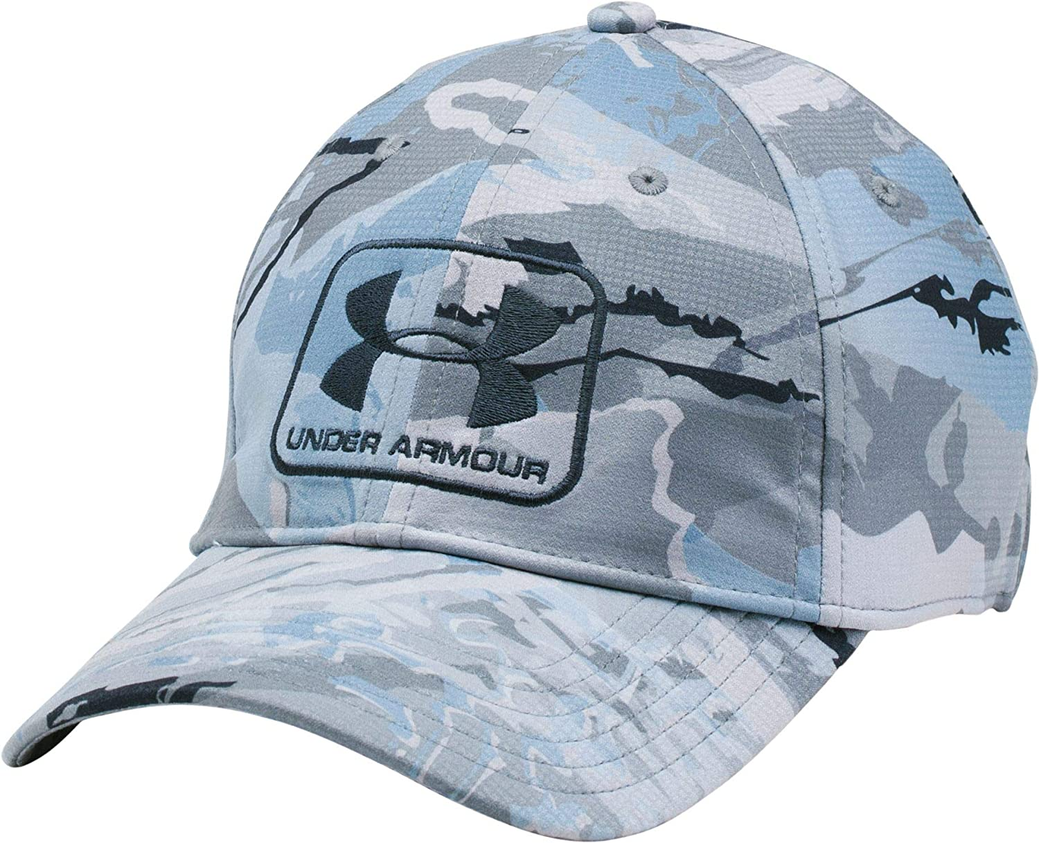 Under Armour Men s Camo Stretch Fit Cap  Amazon.ca  Sports   Outdoors eb9a100b75f8
