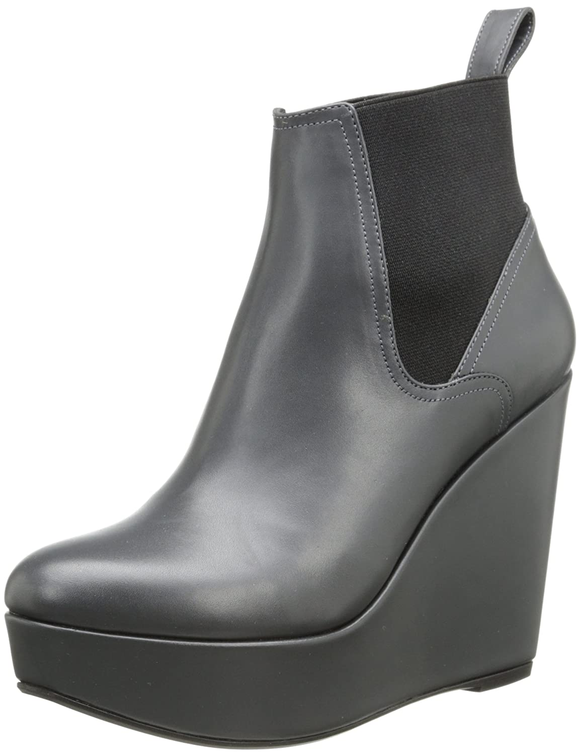Robert Clergerie Women's Fille Wedge Pump Grey 36.5 EU/6 B US