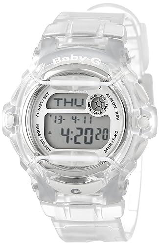 Casio BG169R-7B - Reloj para mujeres, correa de plástico: Casio: Amazon.es: Relojes