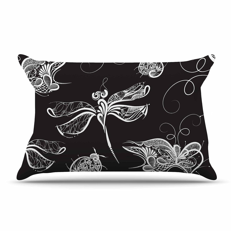 Kess InHouse Maria Bazarova Insects Featherweight Sham, 30' X 20'
