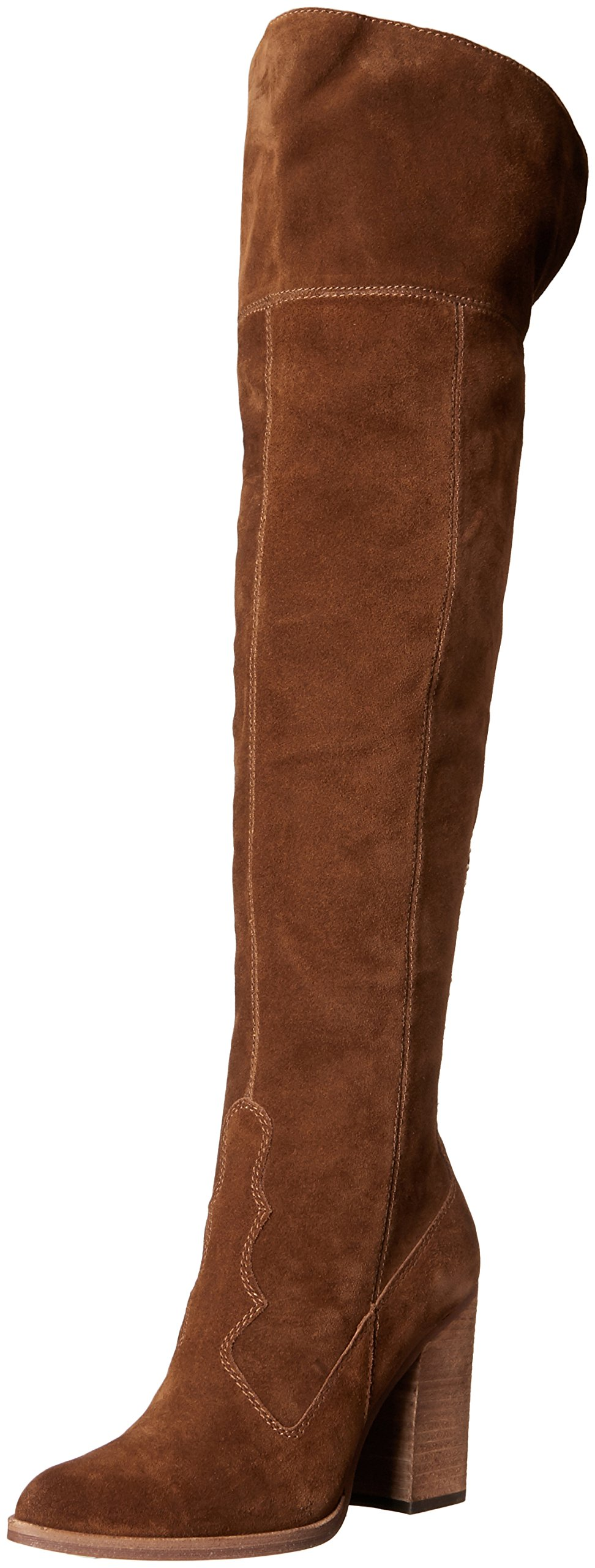 Dolce Vita Women's Cliff Western Boot, Acorn, 9.5 M US