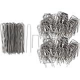com-four® 300g Steckhaften Steckklammern für Blumengestecke in verschiedenen Größen (03 Stück - Steckhaften Mix)