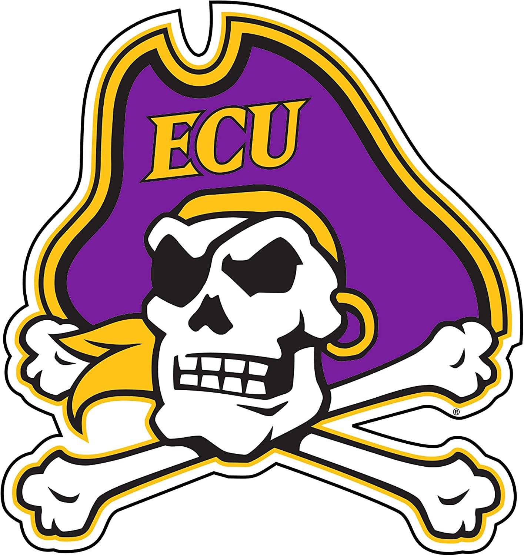 Craftique East Carolina Pirates Decal