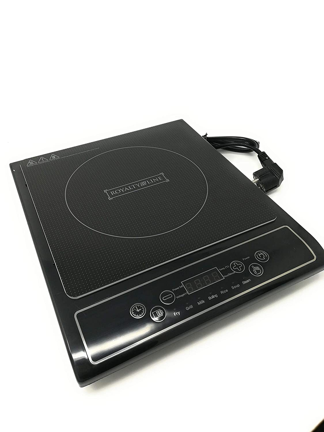 Royalty Line - EIP-2000 - Digital Induction Hob - 2000W - 7 Pre Cooking Programs - Black