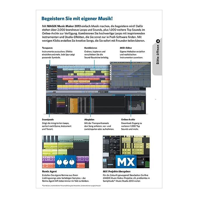 Amazon com: Magix Music Maker 2013: Sports & Outdoors