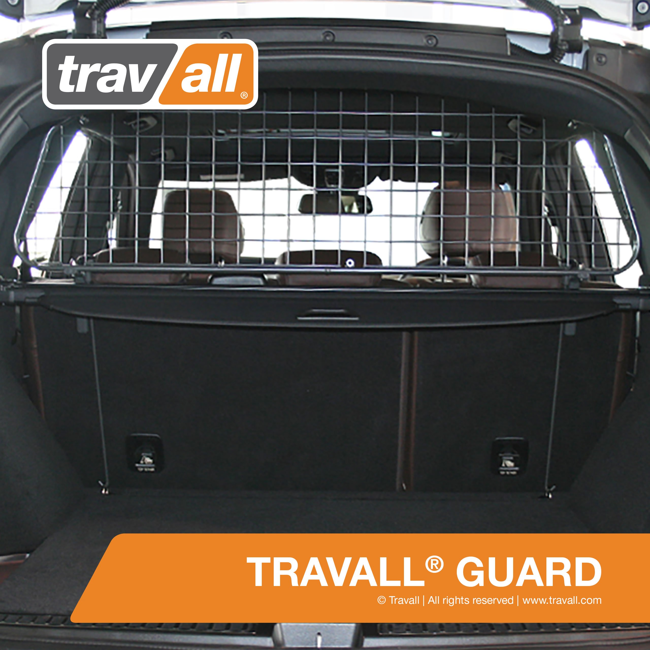 Travall Guard for MERCEDES BENZ GLE-Class (2015-Current) Also for Mercedes Benz M-Class (2011-2015) Mercedes Benz GLE 63 S AMG (2015-Current) TDG1369 - Removable Steel Pet Barrier