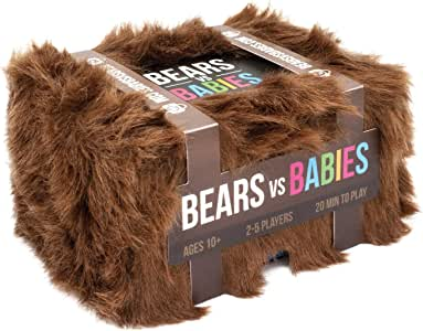 BVB-CORE Bears vs Babies A Card Game From the Creators of Exploding Kittens, 2-5 Players