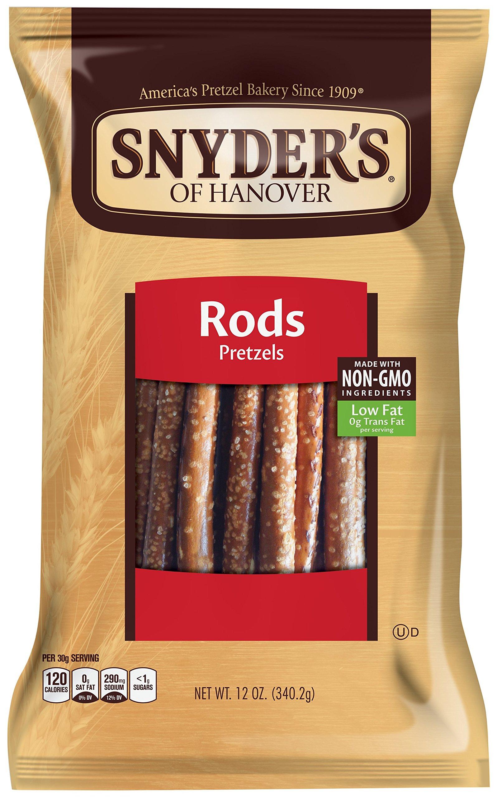 Snyder's of Hanover, Pretzel Rods, 12 oz
