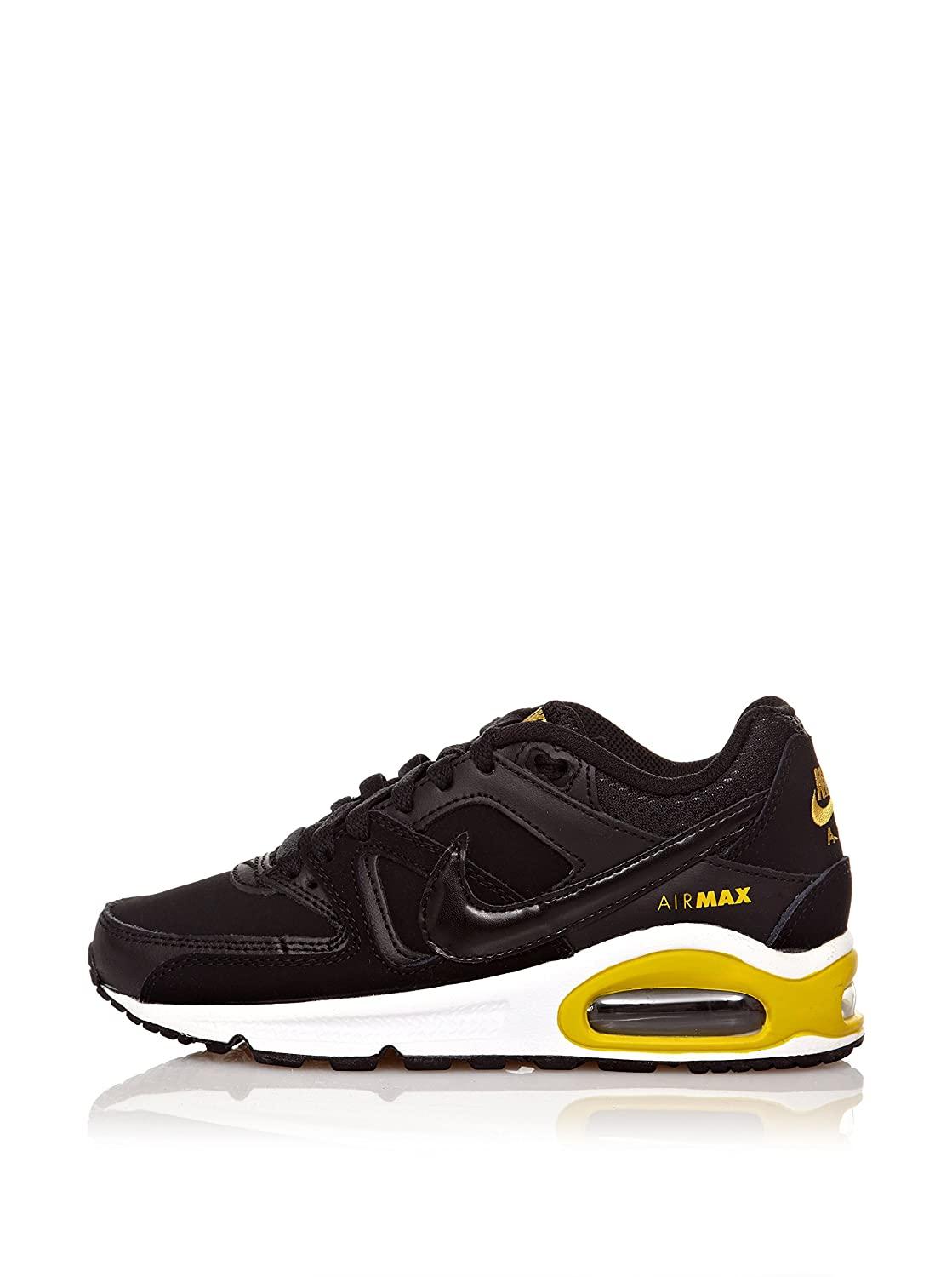 Nike Air Max Command (Gs), Herren Sneakers  EU 39.5 (US 7)|schwarz/gelb