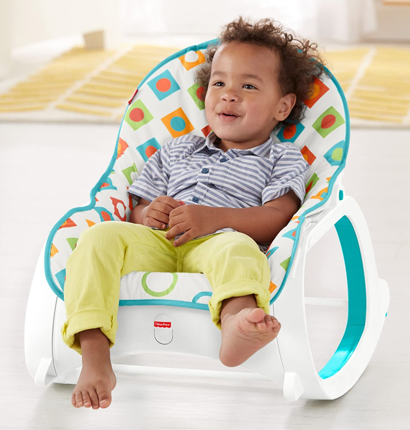Floral Confetti Fisher-Price Infant-to-Toddler Rocker