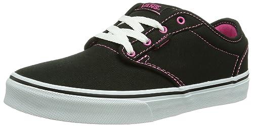 uusi julkaisu kuuma tuote kuuma myynti Vans Atwood Girl Shoes Canvas Black Pink Sneakers