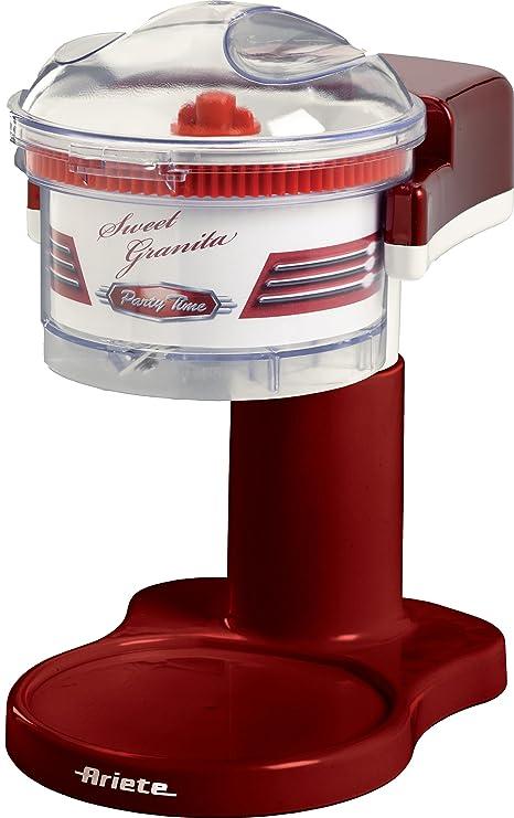 Ariete 78 85W Eléctrico triturador de hielo - Picador de hielo (Eléctrico, Rojo,