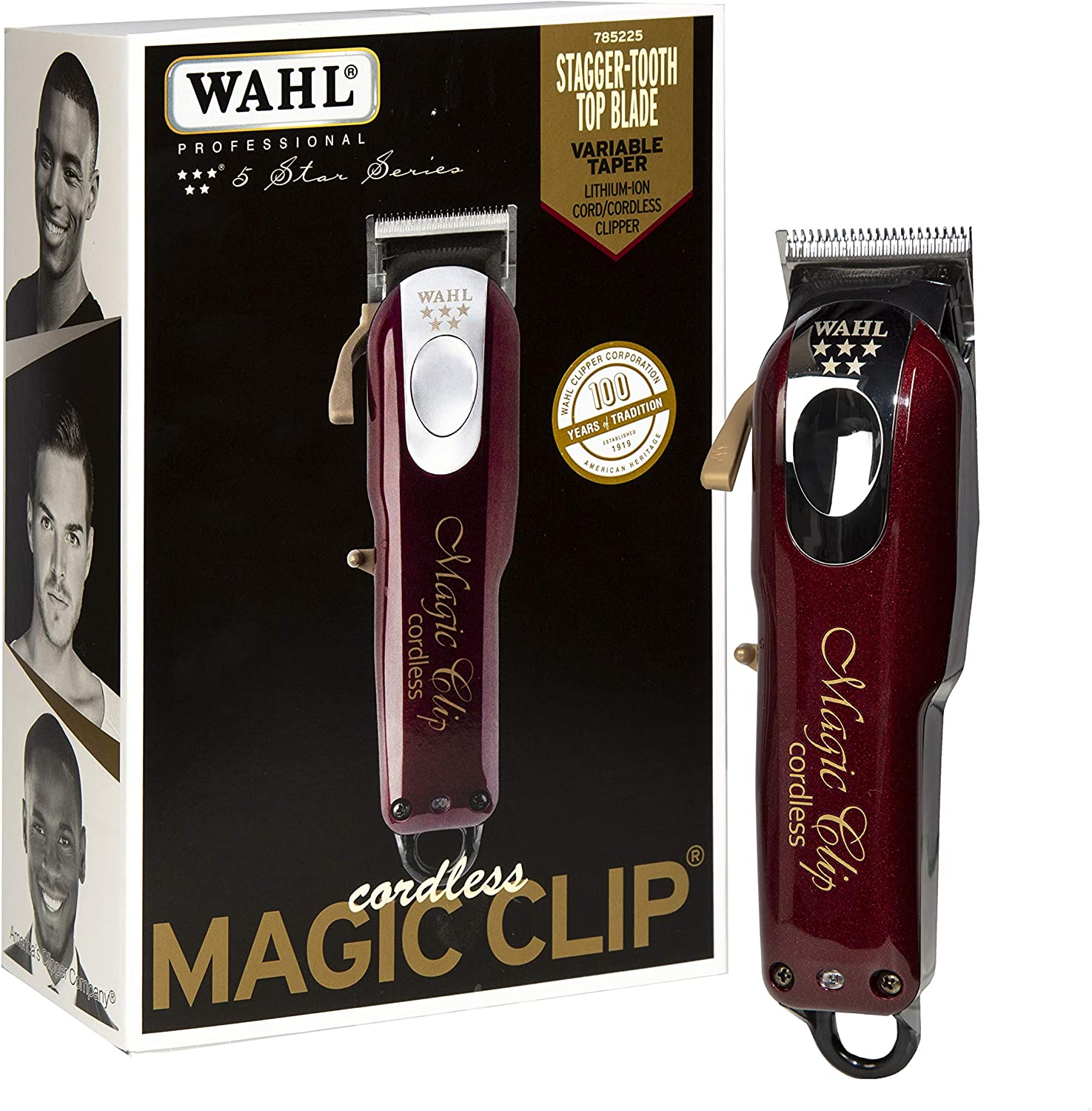 Wahl CORDLESS MAGIC CLIP - Afeitadora: Amazon.es: Hogar