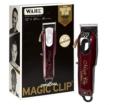 Best Hair Clippers 2020.Wahl Professional 5 Star Cord Cordless Magic Clip 8148 Great For Barbers Stylists Precision Cordless Fade Clipper Loaded With Features 90
