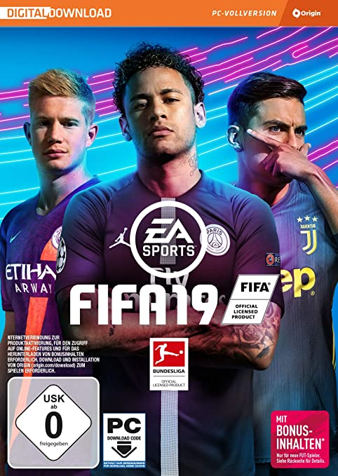 FIFA 19 - Standard Edition - PC (Code in der Box) [Importación ...