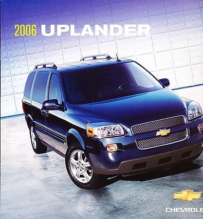 Amazon.com: 2006 Chevrolet Uplander Van 28-page Catálogo de ...
