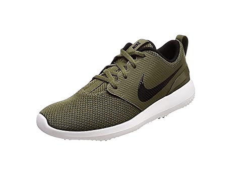 702bddb4c2fe Nike Men s Roshe G Golf Shoes Multicolour (Medium Olive Black Summit White  200