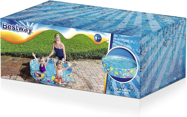Bestway Fill-N-Fun Paddling Pool Blue 48 X 10 Inches