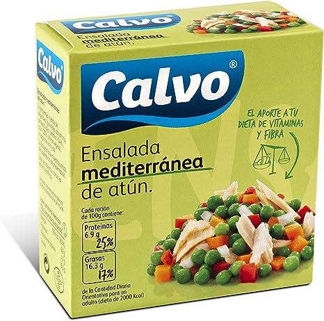 Calvo Ensalada Mediterranea de Atun - 150 g