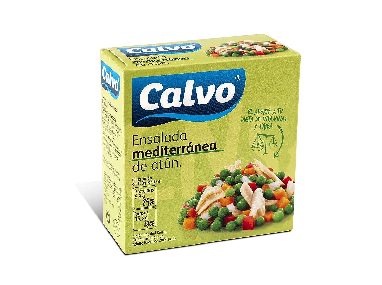 Calvo Ensalada Mediterranea de Atun - 150 g: Amazon.es: Amazon Pantry