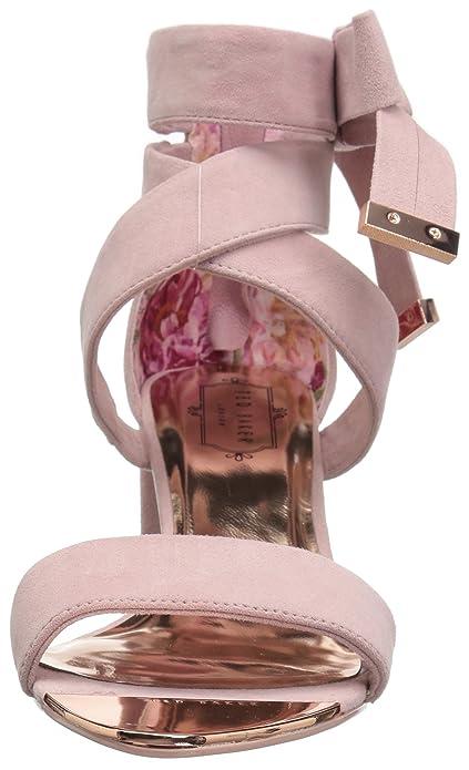 dd5f51b29add Ted Baker Women s Noxen 2 Heeled Sandal  Amazon.co.uk  Shoes   Bags