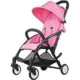 Baby Stroller Light Weight Stroller Portable Stroller(Pink) - Tiny Wonders