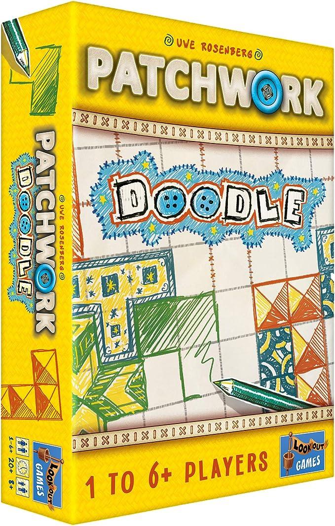Lookout Games LK0107 Patchwork Doodle, varios colores , color/modelo surtido: Amazon.es: Juguetes y juegos