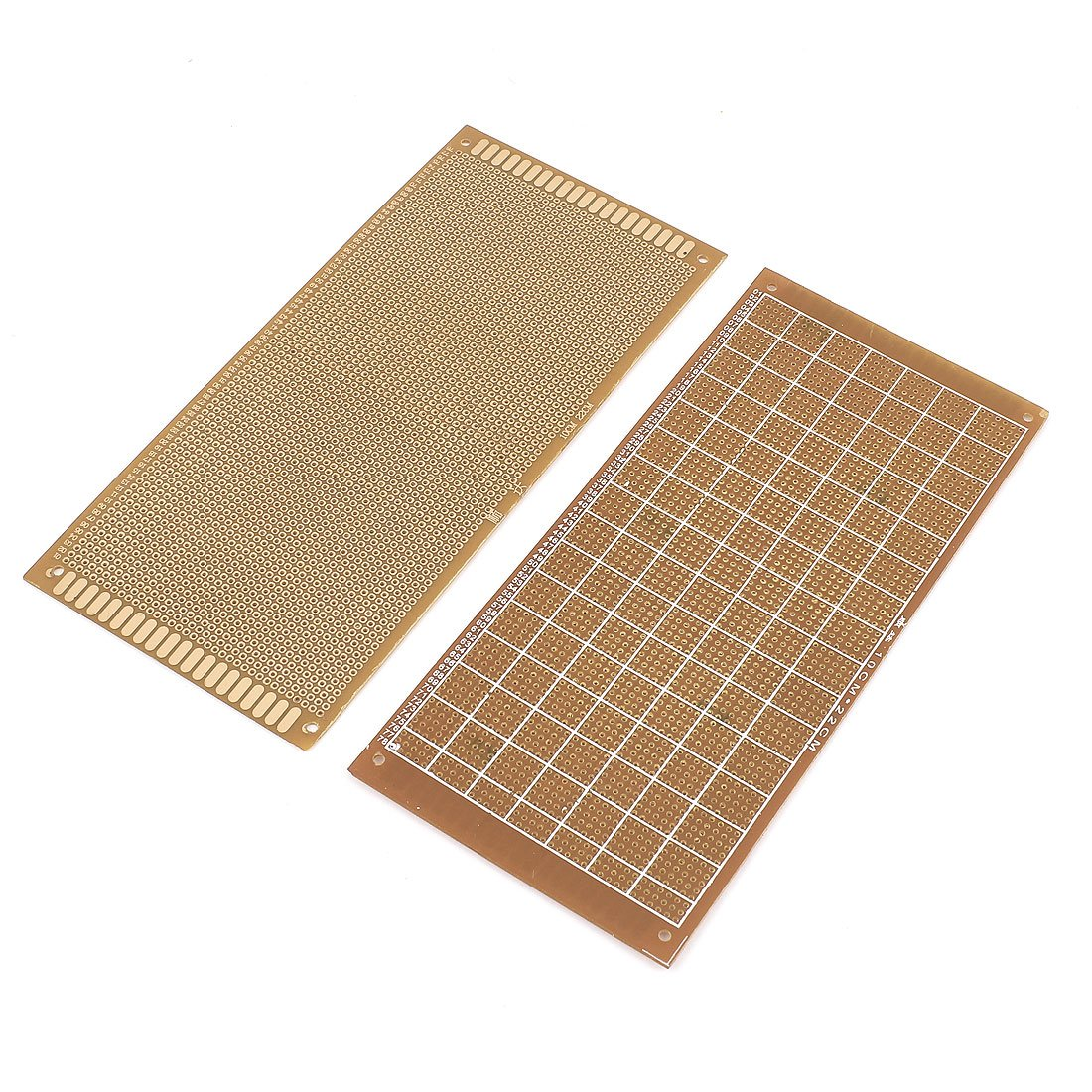 Uxcell a15050500ux0152 2 Piece Single-sided PCB Printed Circuit Board Prototype Breadboard 22cm x 10cm